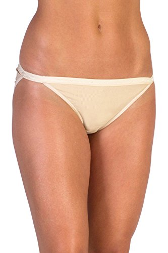 ExOfficio Women's Give-N-Go String Bikini, NUDE, Large ()