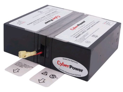 CyberPower RB1280X2A Replacement Battery Cartridge, Maintenance-Free, User Installable by CyberPower