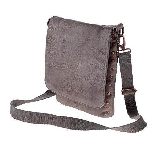 Dudu - Sac porté épaule - 580-1075 Timeless - Bag - Gris Stone - Homme