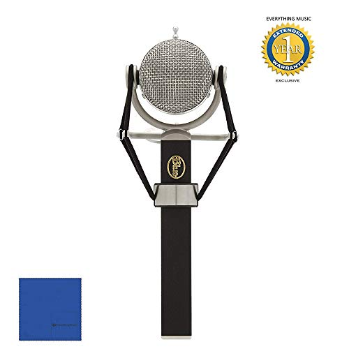 Blue Microphones Dragonfly Cardioid Condenser Microphone with Microfiber and 1 Year Everything Music Extended Warranty