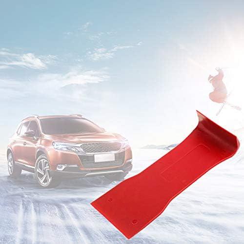 7本の高強度ナイロン車のドアパネルダッシュトリム取り外しPry Openツールキットカーオーディオ分解ツール7個セット-赤