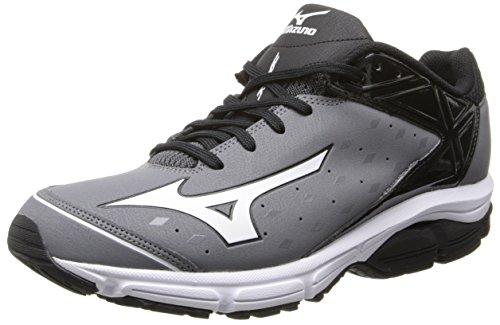 Mizuno Usa Herren Herren Swagger 2 Trainer Baseball Cleat Grau schwarz