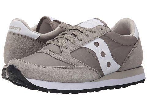 (サッカニー) SAUCONY メンズスニーカーカジュアルシューズ靴 Jazz Original [並行輸入品] B06XY9TSK7 11.5 (29.5cm) D - M ライトグレー