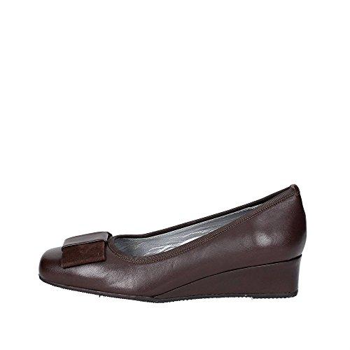 Mujer Sanagens Zapatos 4651 Tacones Marrón Con r64Iqx6