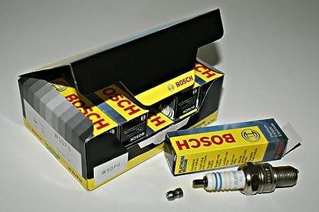Bosch Platinum bujías de iridio x10 Unidades 0241247500 OEM: Amazon.es: Coche y moto