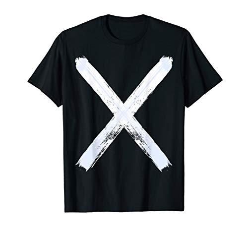MacKay Scottish Clan T-shirt Saint Andrews Cross Flag