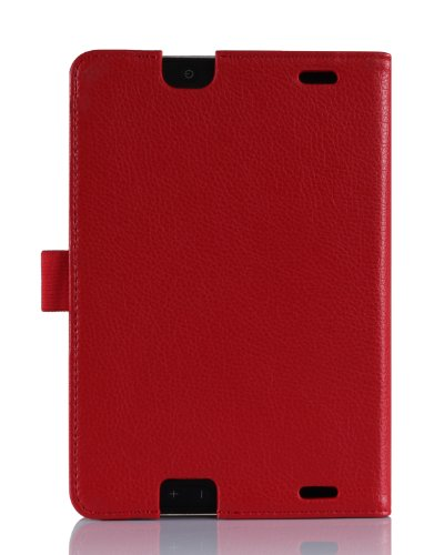 ProCase Previous 2013 Kindle Fire HD 7 Case with bonus stylus pen - Tri-Fold Leather Stand Cover for Previous Generation Kindle Fire HD 7 inch Tablet (will only fit New Kindle Fire HD 7 2013 released, 3rd Gen HD 7) (Red)