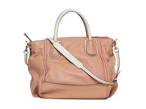 GUESS borsa a tracolla Shopper Rosata Coral