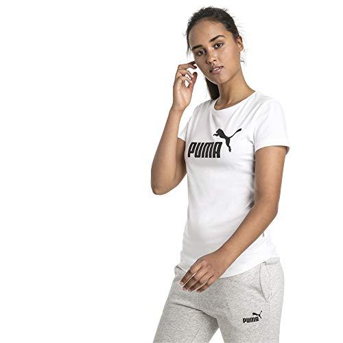 PUMA-Ess-Logo-Tee-T-Shirt-Femme