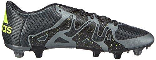 adidas X 15.3 FG/AG - Botas para hombre Nero (core black/solar yellow/night met. f13)
