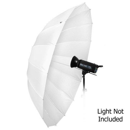 "Fotodiox Pro 16-rib, 72"" Shoot-Through Neutral White Diffusion Parabolic Umbrella"