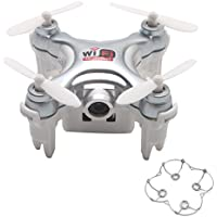 Zczhang fish858 Cheerson CX-10WD 2.4G FPV WiFi Quadcopter 0.3MP Camera (No Remote Control) (Gray)