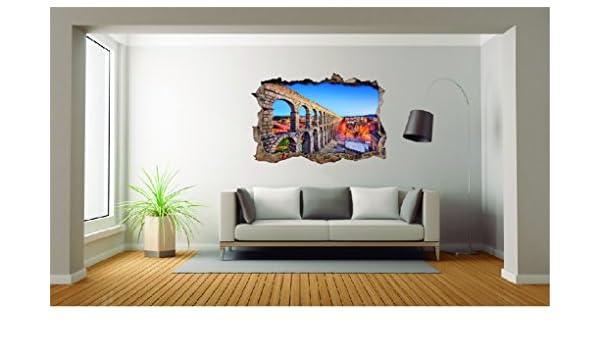 Amazon.com: City Of Segovia 3D Effect - Brake Wall Effect 3D ...