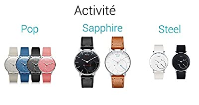 Withings Activite - Activity-Tracking Watch - Steps, Runs, Swim & Sleep - Swiss-Made from Withings Inc - SPORTS