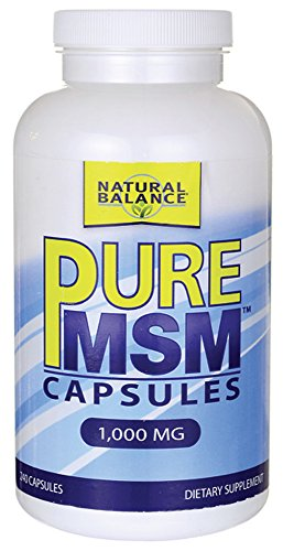 Natural Balance (formerly TriMedica) - Pure Msm (1000 mg, 240 capsules)