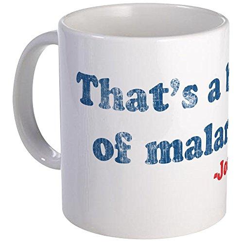 CafePress Vintage Joe Biden Malarkey Quote Mug Unique Coffee Mug, Coffee Cup