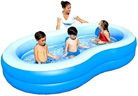 Bestway - Family hinchable Laguna azul balones de jardín piscina ...