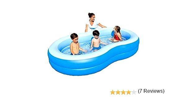 Bestway - Family hinchable Laguna azul balones de jardín piscina 54117: Amazon.es: Jardín