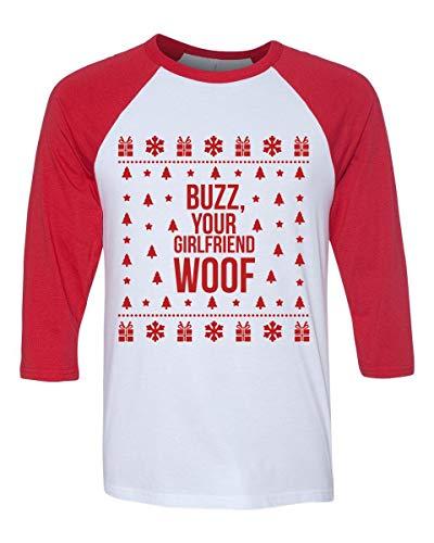 - Buzz Your Girlfriend Woof Home Alone Shirt Matching Family Shirts Men Women Kids Toddler Youth Plus Size