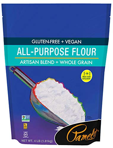 (Pamela's Products Gluten Free All Purpose Flour Blend, 4 Pound)