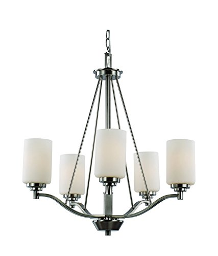 (Trans Globe Lighting 70525 ROB Mod Pod Indoor Rubbed Oil Bronze Modern Chandelier, 25