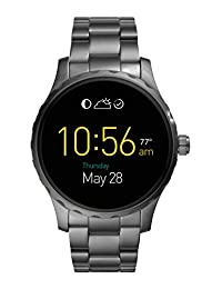 Fossil Q Marshal Touchscreen Smoke Stainless Steel Smartwatch Ftw2108