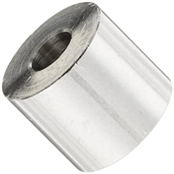 3//8 OD 0.192 ID 5//16 Length 18-8 Stainless Steel 5//16 Length Round Spacer Small Parts 370510RS303 #10 Screw Size Pack of 5 0.192 ID 3//8 OD Pack of 5 Plain Finish