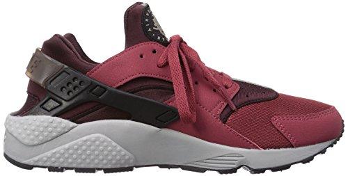Nike Men's Air Huarache Sneakers, Green, 7.5 Red (Cedar/Black/Deep Burgundy)