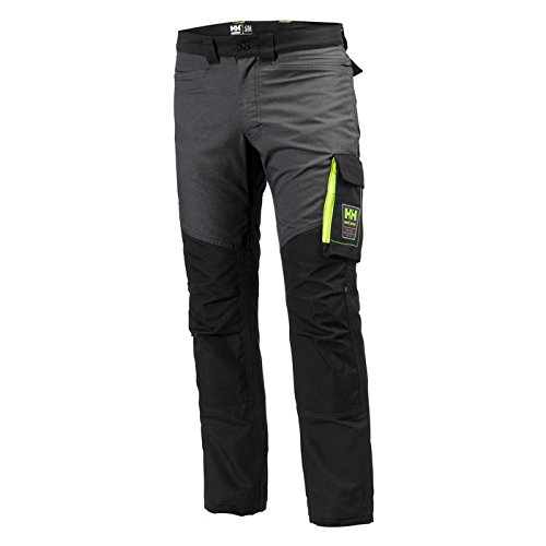 Helly Hansen 77400_999-C48 Aker Work Pants, C48, Black/Charcoal by Helly Hansen (Image #1)