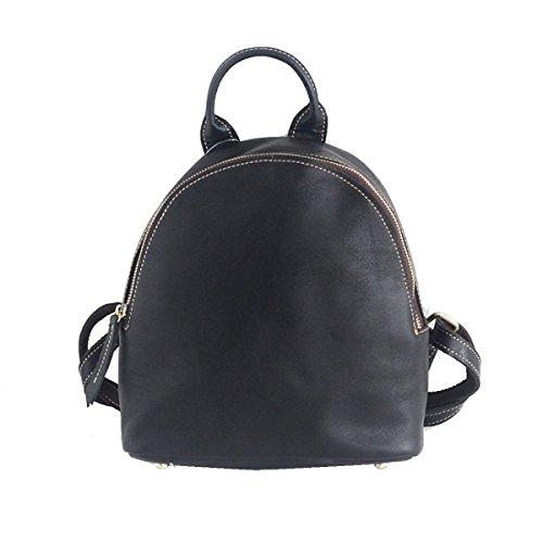 Yy.f Cuero Bandolera Bolsa De Mujer La Primera Capa De La Moda De Cuero Nuevo Bolso Pequeño Salvaje Puro 3 Colores Brown