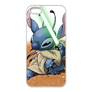 Disneys Lilo And Stitch iPhone 4 4s Cell Phone Case White Transparent Protective Back Cover 1167