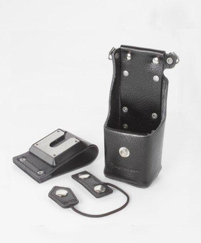 Motorola OEM Leather Holster NTN8381C Swivel XTS1500 XTS3000 XTS3500 XTS2500 XTS5000 MT1500 PR1500
