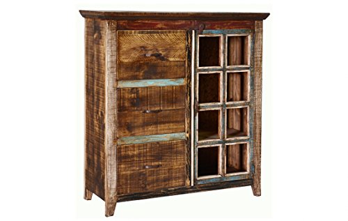 Cheap Quality Rustic Multi Color Louvered Series File Cabinet