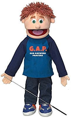 "25"" God Answers Prayers, Peach Boy, Full Body, Christian Ministry Puppet from Silly Puppets"