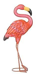 Regal Art & Gift Standing Flamingo Garden Decor, Small
