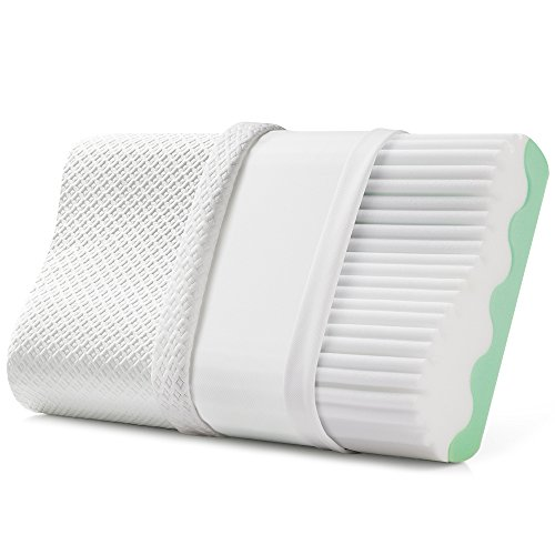 Jiaao-Memory-Foam-Pillow-for-Neck-Pain-Orthopedic-Contoured-Support-Pillow-for-Sleeping-Best-Bed-Pillow-for-Side-Back-Sleepers-Including-Removable-Cover-with-Invisible-Zipper-Standard-white