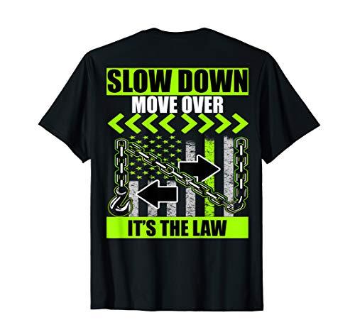 (SDMO tow truck driver tshirt)
