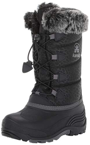Kamik Girl's Snowgypsy3 Boot, Black, 12 M US Little Kid