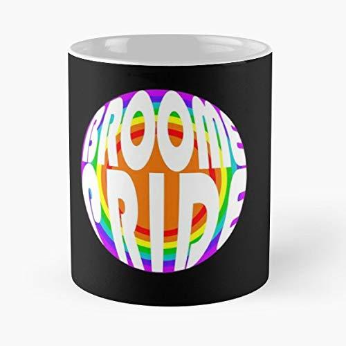 Broome Pride Lgbt Lesbian - Best Gift Ceramic Coffee Mugs 11 Oz