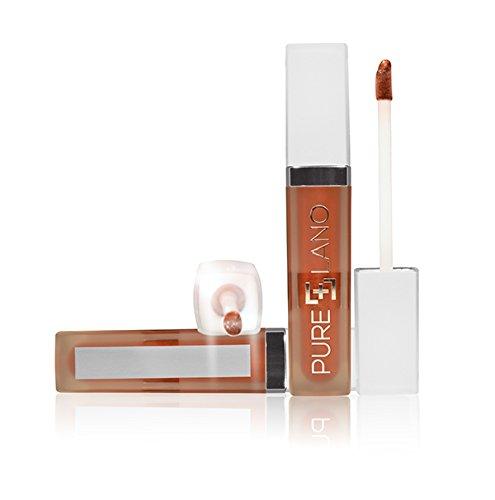 - Pure Lano Illumination Light Up Lip Gloss, Tuscan Sunset, 0.22 Fluid Ounce