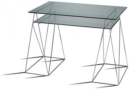 Lote DE 2 - Juego de Base caballetess metálicos para mesas mesas ...