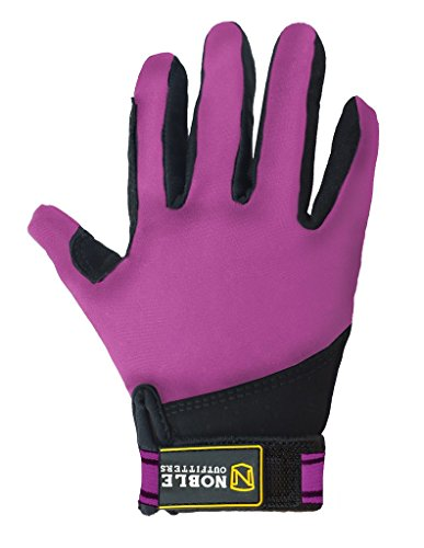 Noble Outfitters Kids Perfect Fit Glove Blackberry Youth Large ()