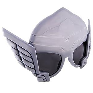 Sunstaches Marvel Avengers Thor Character Sunglasses, Party Favors, UV400