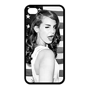 Customize Famous Singer Lana Del Rey Back Case for iphone 4 4S JN4S-1962