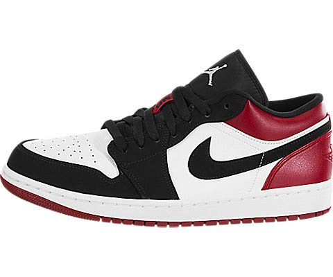 Jordan Air 1 Retro Low White/Black-Gym Red