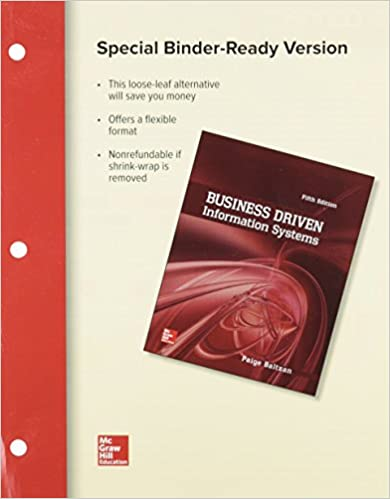 Amazon loose leaf business driven information systems loose leaf business driven information systems 5th edition fandeluxe