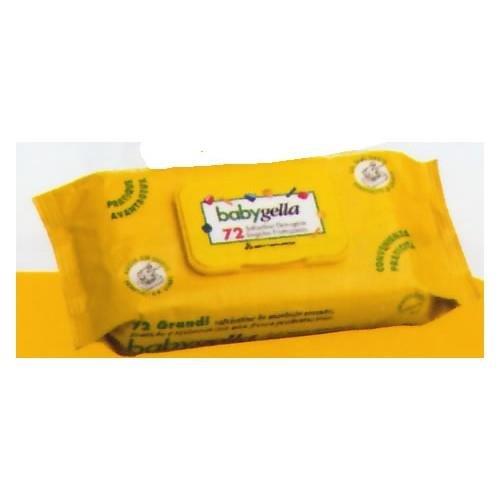 5 opinioni per Babygella Salviettine Detergenti- 72 Pezzi