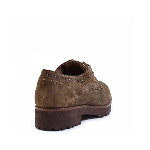Zapatos Alpe Con 37 Tachuelas Mujer Taupe eu pd6R6wqZx