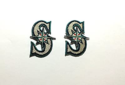 2 Seattle Mariners embroidered Iron on patches