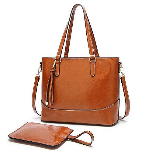 (ALARION Women Top Handle Satchel Handbags Shoulder Bag Messenger Tote Bag Purse)